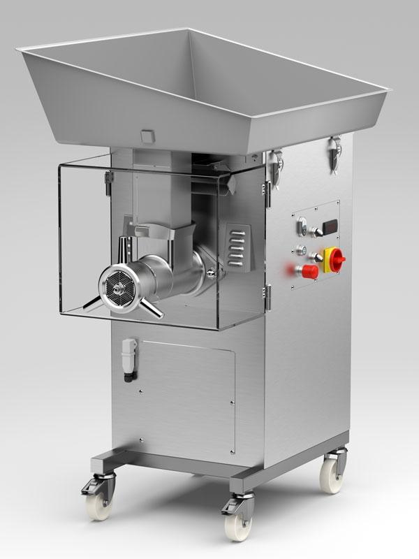 Picadora de carne industrial refrigerada - Picadora alimentos ...